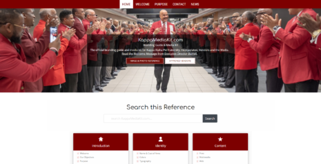 2021 Screenshot of KappaMediaKit.com